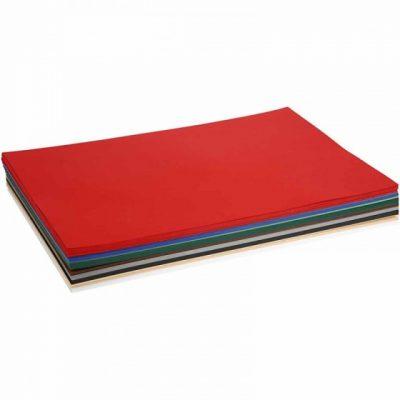 kerst karton 42 x 59,4 cm 300 stuks 180 g multicolor