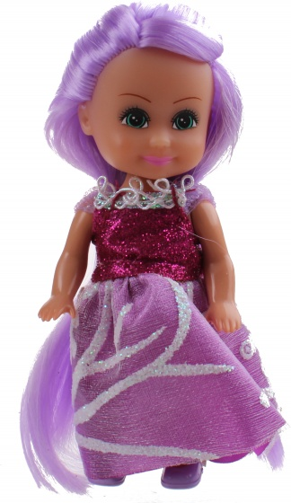 tienerpop Sparkle Girlz Winter Princess 11 cm paars