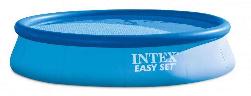 Easy Set Pool Opblaaszwembad 396 x 84 cm blauw