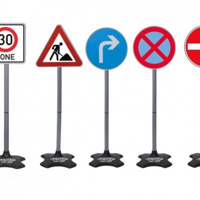 verkeersborden groot 5-delig 81 cm