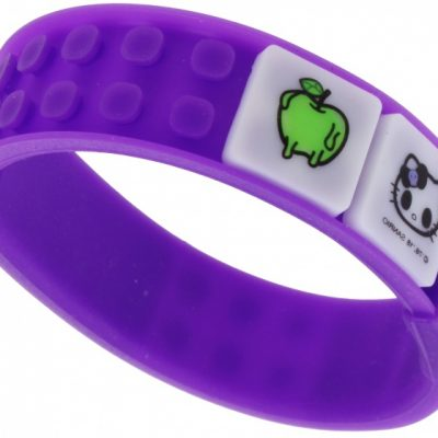 pixel armband Hello Kitty paars 35-delig