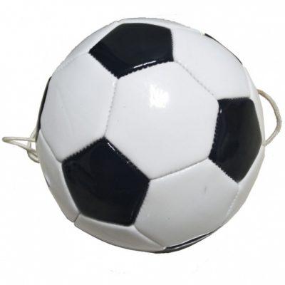 voetbalvaardigheidstrainer wit/zwart